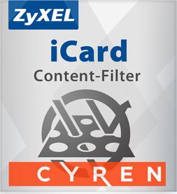 ZyxEL 1 rok Cyren Content Filtering dla USG 100
